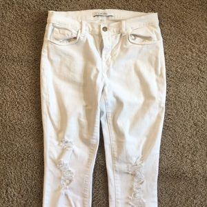 JBRAND - cropped jeans in demented